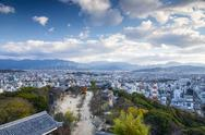 Stock Photo of matsuyama japan