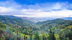 Smoky Mountains Stock Footage