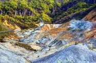 Stock Photo of hell valley japan