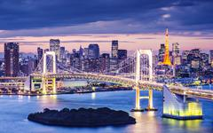 Tokyo bay Stock Photos