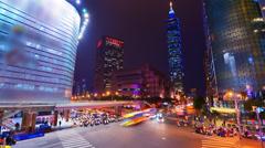 Taipei Taiwan Stock Footage