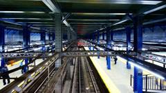 Subway Station Stock Footage