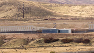 Stock Video Footage of Aerial view Zoom of National Security Agency Data center Utah