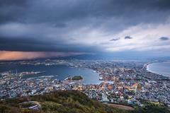 hakodate, japan - stock photo