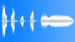 Cartoon mock up voice Sound Effect