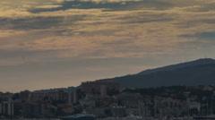Palma de Mallorca seafront time lapse Stock Footage