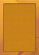 liquid honey jar vector art design - stock illustration