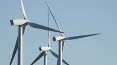 Central washington wind farm 2 Stock Footage