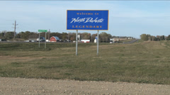 North Dakota  Stock Footage