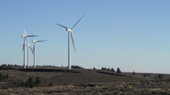 Central washington wind farm 19 Stock Footage