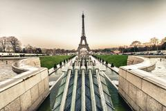 Paris architectural detail - stock photo