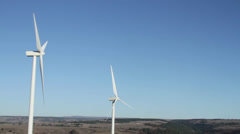 Central washington wind farm 5 Stock Footage