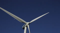 Central washington wind farm 15 Stock Footage