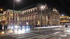 Vienna State Opera - stock footage