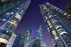 Pusan cityscape Stock Photos