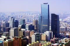 city of seoul korea - stock photo