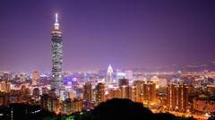 Taipei, Taiwan Stock Footage