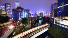 Ochanomizu District of Tokyo, Japan Stock Footage