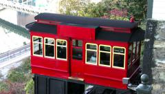 4K Duquesne Incline Trolley Car 3744 Stock Footage