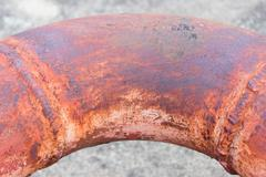 Rusty pipes Stock Photos