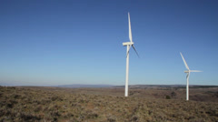 Central washington wind farm 16 Stock Footage