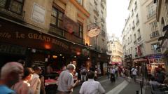 Paris Latin Quarter #2 - stock footage