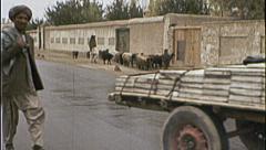 Stonemason Horse Cart AFGHANISTAN Kabul 1980s Vintage Film Home Movie 7127 Stock Footage