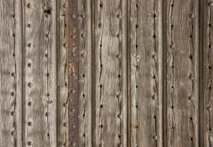 Stock Photo of old wooden facade detail