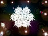 Stock Illustration of Christmas snowflake