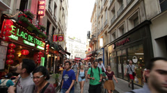 Paris Latin Quarter #1 Stock Footage