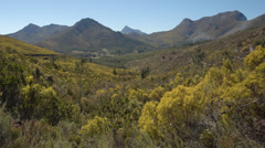 Still shot of beautiful mountain landscape Stock Footage