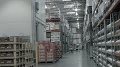 Shopping Costco Wholesale membership store HD 004 - stock footage