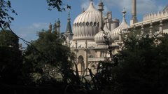 Brighton Pavilion - stock footage