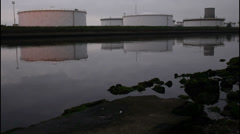Petrochemical Factory - stock footage