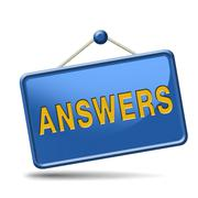 search answers icon - stock illustration
