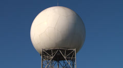 Doppler Radar Station Stock Footage