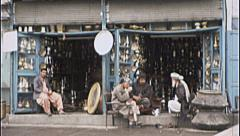 Shop Silver Merchants Bazaar AFGHANISTAN 1980s Vintage Film Home Movie 7148 Stock Footage
