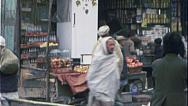Stock Video Footage of Shopkeeper KABUL AFGHANISTAN Pre War City 1980s Vintage Film Home Movie 7150