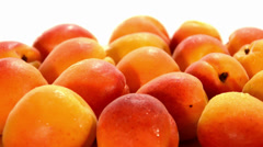 Apricots Stock Footage