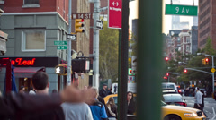 Meatpacking District in Manhattan Stock Footage