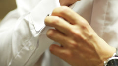 Cufflinks - stock footage
