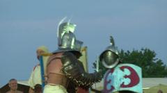 Gladiator munus Thraex Murmillo 01 Stock Footage