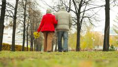 Peaceful Retirement Stock Footage