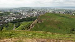 Stock Photo of view from arthur's seat, edimburgh