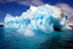 Stock Photo of blue iceberg