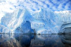 dramatic iceberg - stock photo