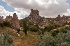 Kuumailmapallomiehet cappadocia turkki Kuvituskuvat