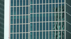 Huge Business Tower Stock Footage