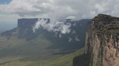 Roraima-Mountain-Top-Venezuela Stock Footage