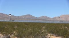 Solar Power Plant Stock Footage